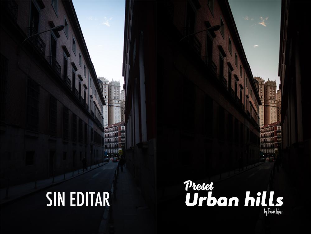 Comparativa Preset Urban Hills