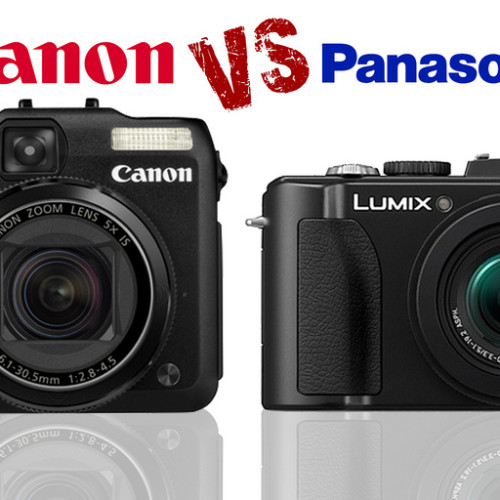 CANON POWERSHOT G12 vs. PANASONIC DMC LX5