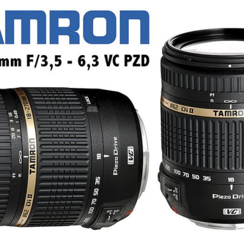 Objetivo Tamron 18-270 F/3,5 6,3 VC PZD – Análisis Digitalrev4U