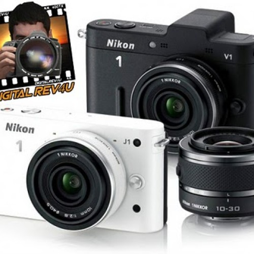 Nikon J1 y Nikon V1 las mirrorless de Nikon – Novedad Digitalrev4U
