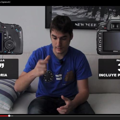 Nikon d90 vs Canon EOS 60D – Comparativa Digitalrev4U