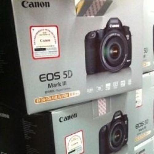 Canon EOS 5D Mark III listas para la venta