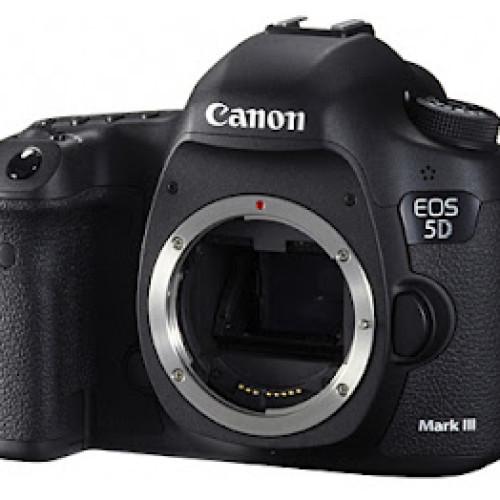 Esta es la nueva Canon EOS 5D Mark III