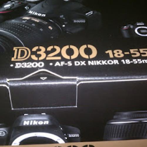 Nikon D3200 a la venta