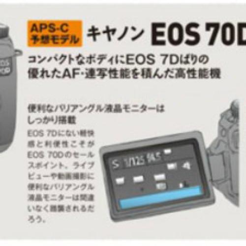 Canon EOS 70D y Canon EOS 3D