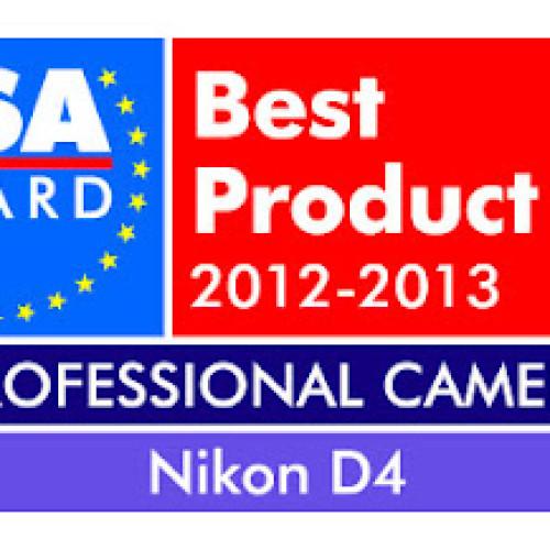 Nikon D4 premio EISA 2012-2013