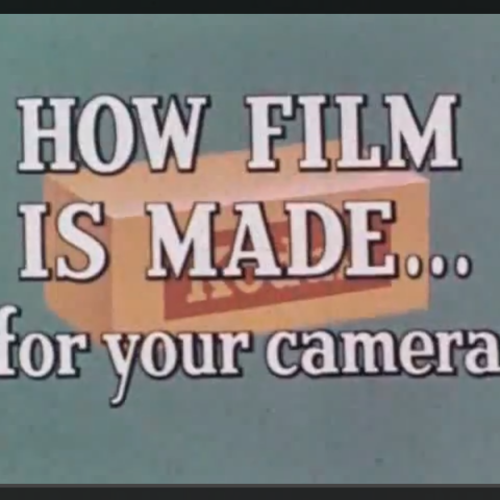 How It´s Made – Kodak Film 1958