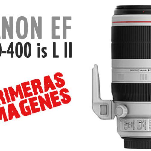 Primeras imágenes – Canon EF 100-400 IS II