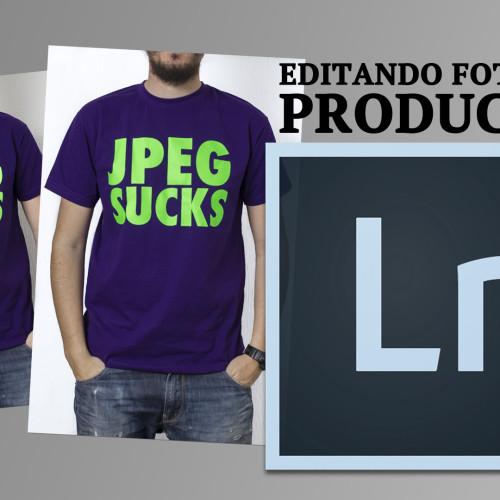 Editando foto de producto