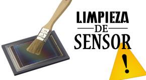 Limpieza de sensor – Cámara DSLR