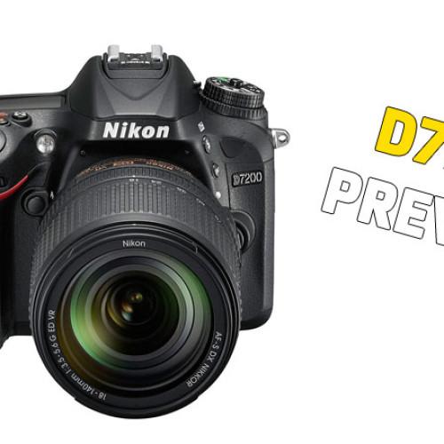 Nikon D7200 – Preview