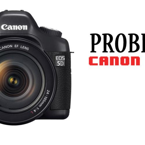 Problemas en la Canon EOS 5D