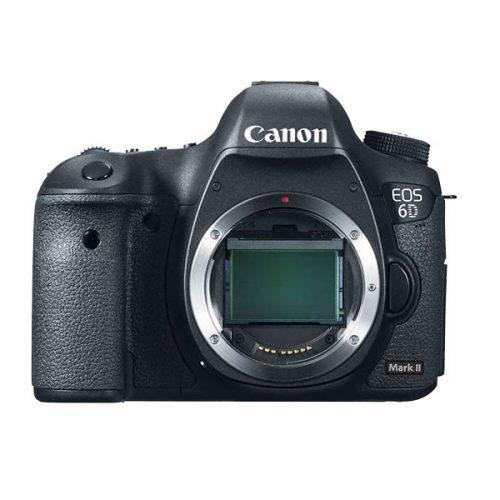 La cámara Canon EOS 6D Mark II no será sin espejo