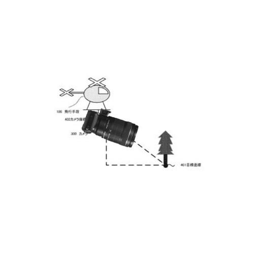 Patente Canon – Camara para drone