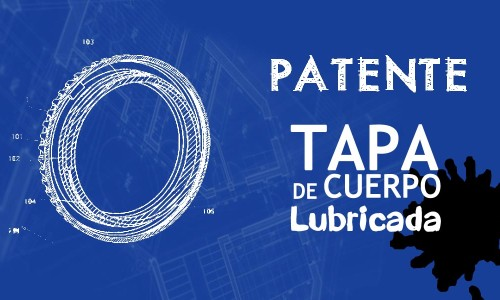 Patente Canon – Tapa de cuerpo lubricada