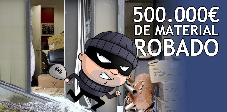 Gran robo de 500.000€