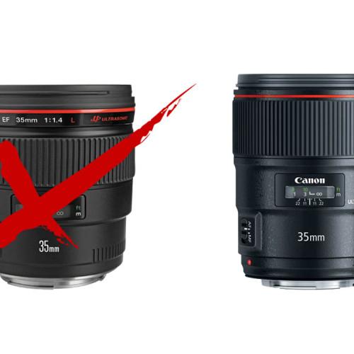 Canon 35mm f/1.4 II L USM