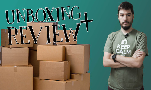 Fotografía de producto – Unboxing + Review