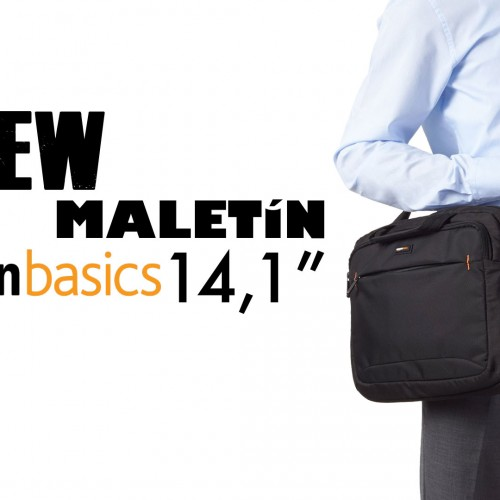 Maletín AmazonBasics 14,1″ – Review