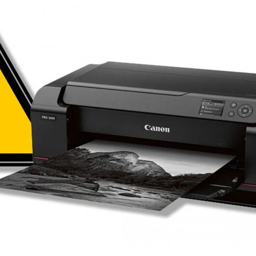 Canon imageprograf PRO-1000 – Fugas de tinta