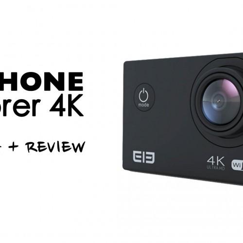 Cámara de acción Elephone Explorer – Review