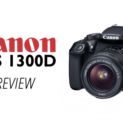 Canon EOS 1300D – Preview