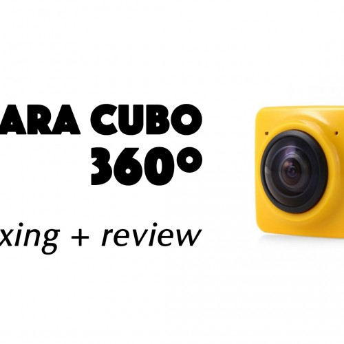 Cámara cubo 360º – Review