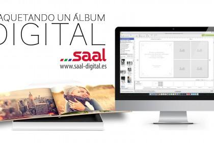 Maquetación de álbum digital – Saal Digital