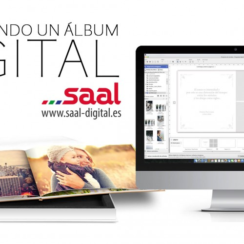 Maquetación de álbum digital – Saal Digital