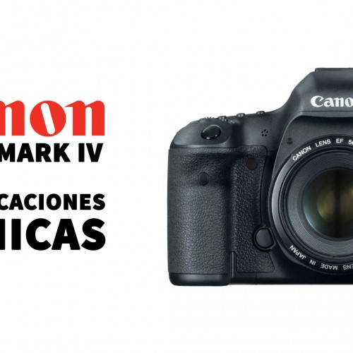 Prestaciones nueva Canon EOS 5D Mark IV