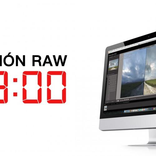 Edición RAW en 3 minutos – Oscar Fructuoso