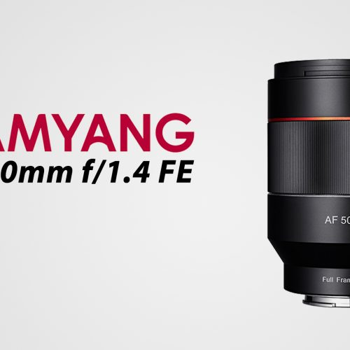 Samyang AF 50mm f1.4 FE