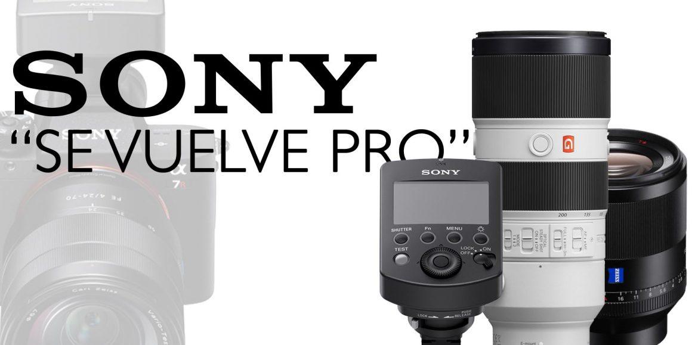Sony se vuelve PRO