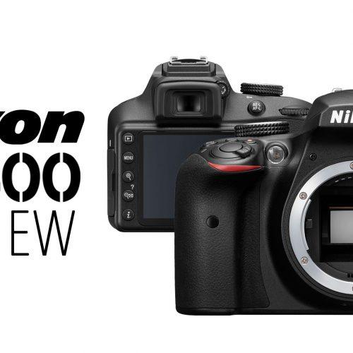 Nikon D3400 – Preview