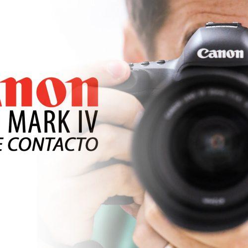 Canon EOS 5D Mark IV – Toma de contacto