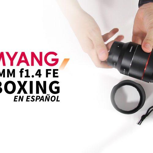 Samyang AF 50mm f1.4 FE – Unboxing