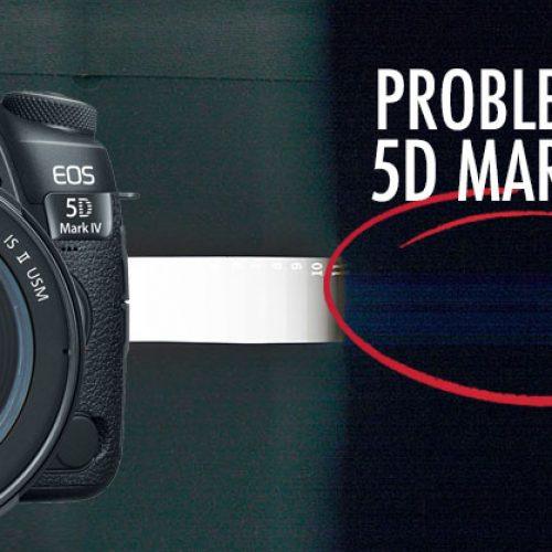Canon EOS 5D Mark IV – Problemas de sensor