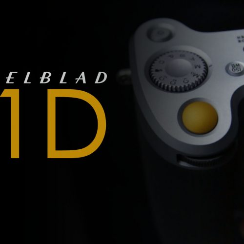 Hasselblad X1D – Toma de contacto