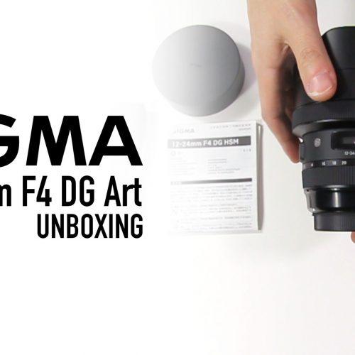 Sigma 12-24 F4 DG Art – Unboxing