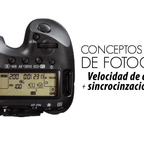 Velocidad de obturación – Conceptos básicos de fotografía