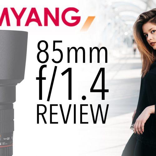 Objetivo Samyang 85mm f1.4 – Sesión de fotos con Ines Bauve