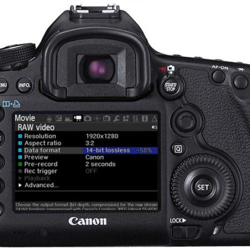 Vídeo 4K desbloqueado en la Canon EOS 5D Mark III