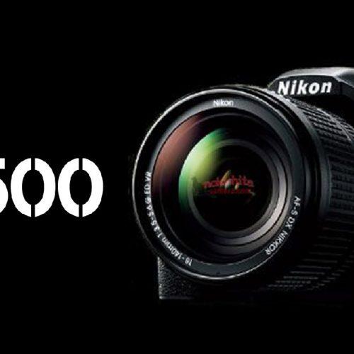 Cámara Nikon D7500 al caer