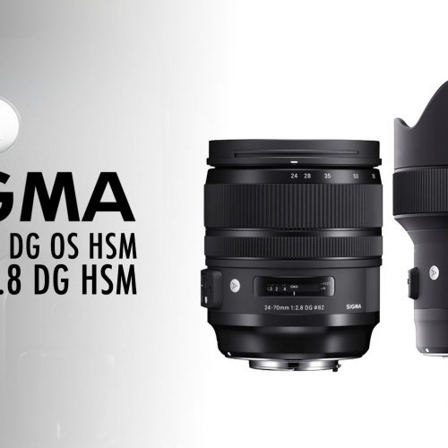 Nuevos objetivos Sigma Art 24-70mm y 14mm
