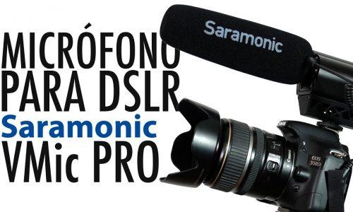 Micrófono para DSLR – Saramonic VMic Pro
