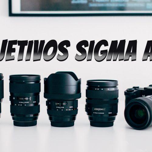Objetivos serie Art de Sigma
