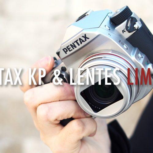 Cámara Pentax KP + Objetivos Limited