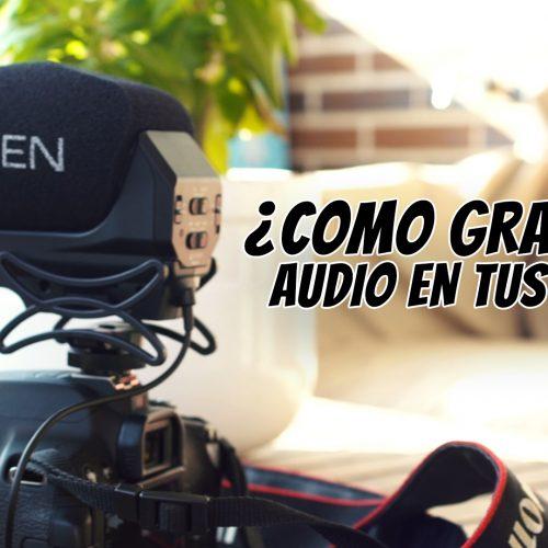 ¿Como grabar el audio de tus videos? con micrófonos Azden