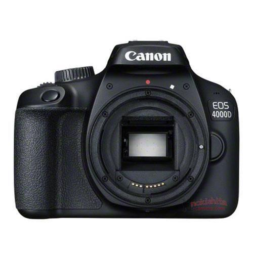 Canon EOS 4000D – filtrada