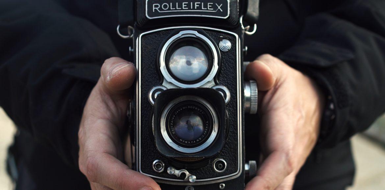 Fotografía blanco y negro con Rolleiflex de 1950